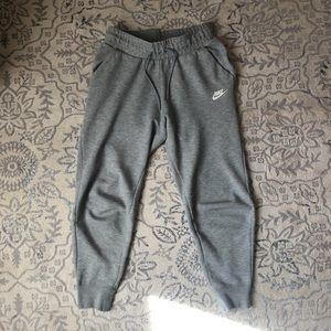 Grey Nike Tech Fleece Track Pants